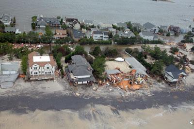Hurricane Sandy - Long Beach Island, New Jersey
