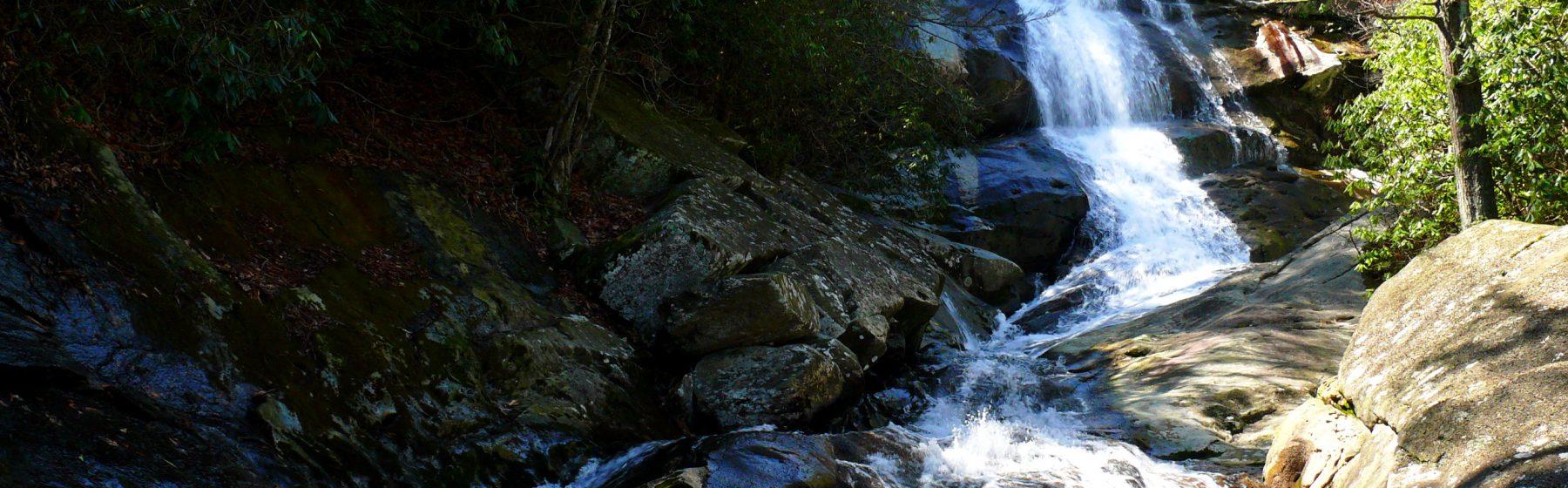 North Carolina mountain creek